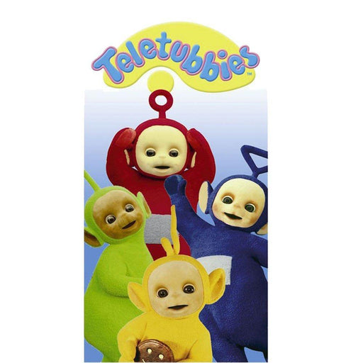 """Teletubbies"" Velvet Beach Towel 100X170 Cm 100% Cotton"
