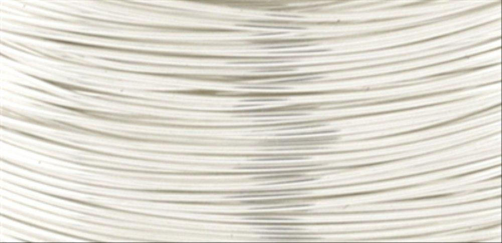 Beadalon Artistic Wire 28 Gauge 15yd-Non-Tarnish Silver, Other, Multicoloured
