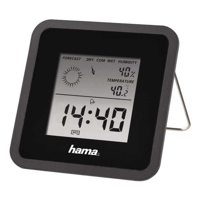 Hama Thermo/ Hygrometer, Black