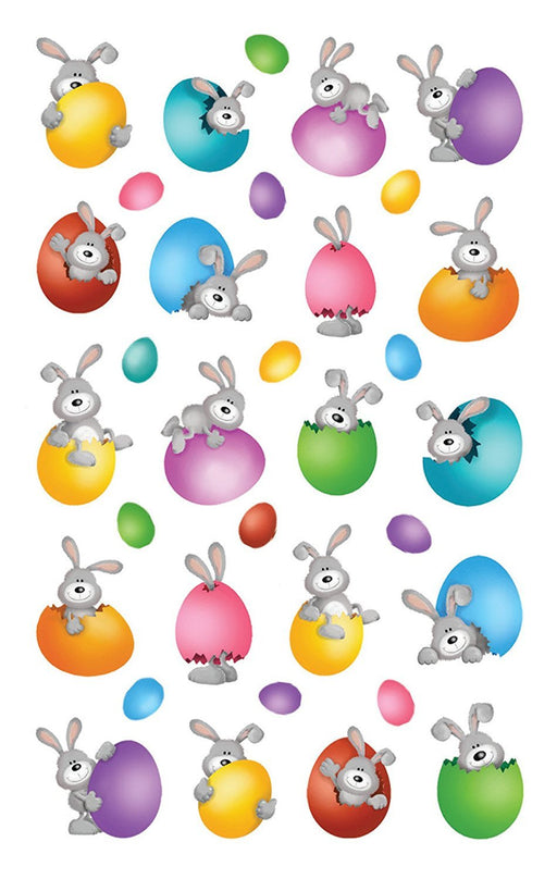 "'Avery Zweckform 39157 Easter Sticker, Letter ""Happy Easter (Embossed Foil), 7 Paper Material Hasen im Osterei"