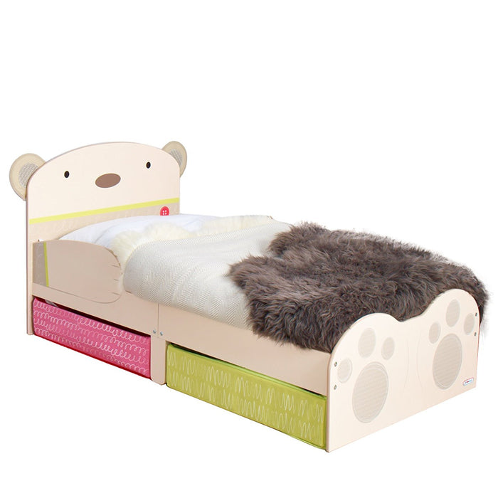 BearHug Kids Toddler Bed with Underbed Storage by HelloHome