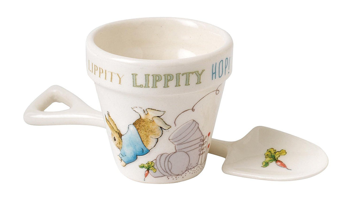 Beatrix Potter Peter Egg Cup and Spoon Set