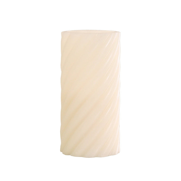 Greemotion LED Candle 12.5 CM Twist Twist, Cream