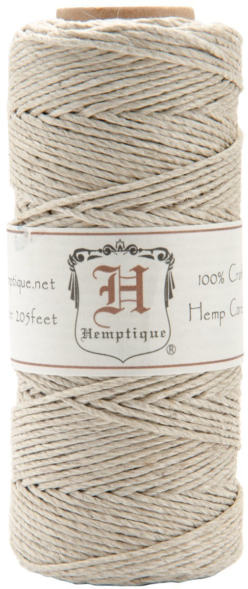 Hemptique Hemp Cord Spool Natural