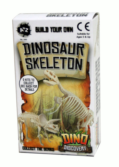 A to Z 01692 Build Your Own Dinosaur Skeleton Party Favours Toy