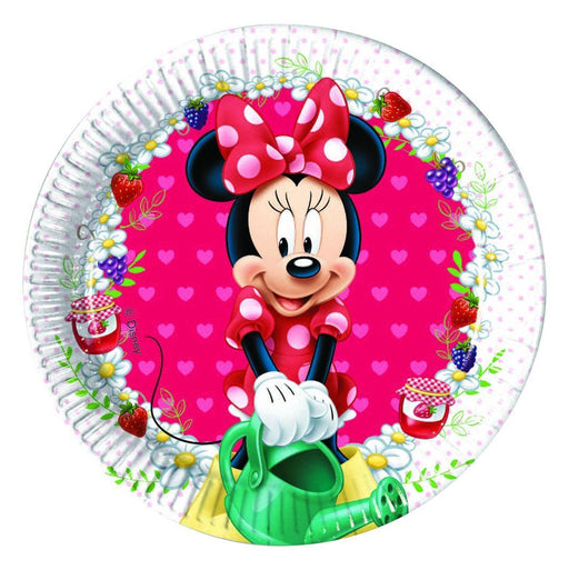 20cm Jam Packed Disney Minnie Mouse Party Plates, Pack of 8