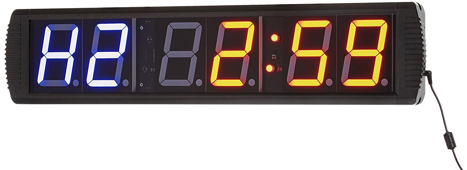 Afw Digital Clock Timer For Interval Circuit And Crossfit Training Quartz