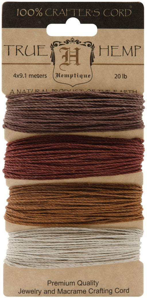 Hemptique Hemp Card (Set of 4) Shades of Bronze