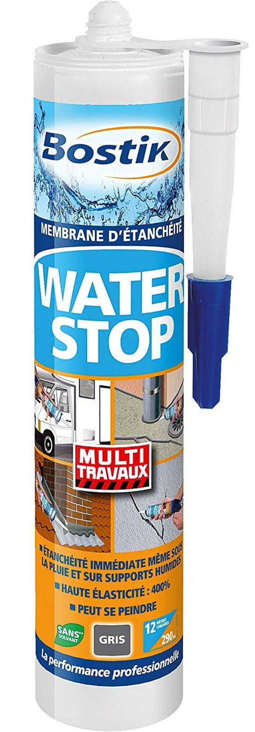 Bostik Its 466879 Waterstop Waterproofing Membrane Cartridge 290 ml - Grey