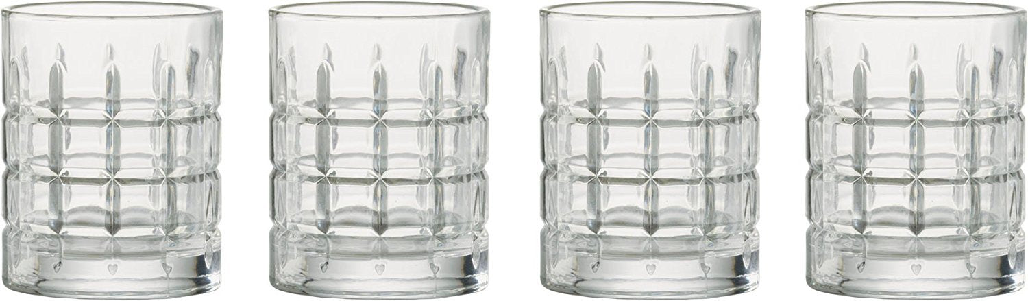 Artland Newport DOF Tumblers, Set of 4, Clear