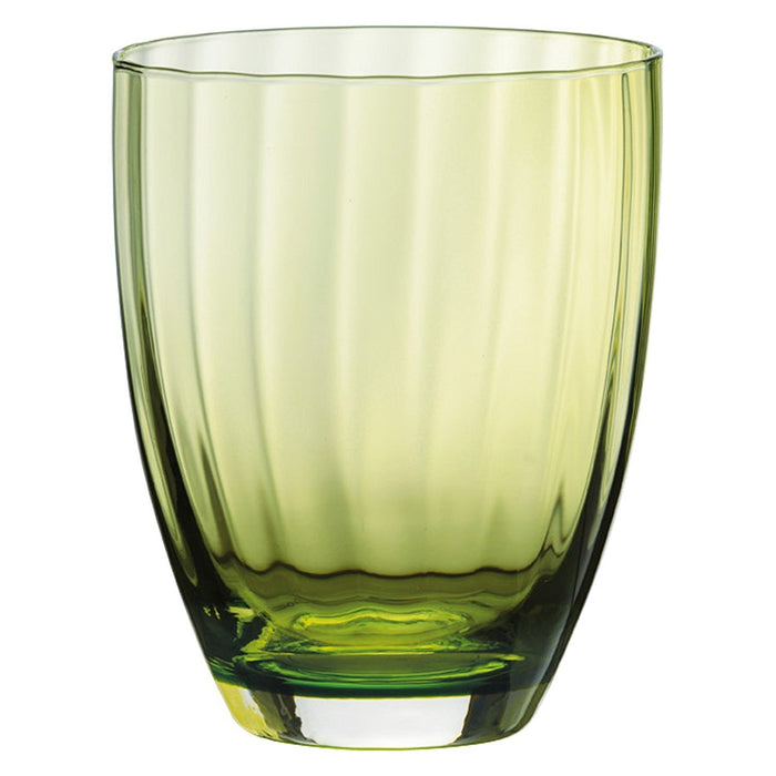 Anton Studio Designs Aurora DOF Tumblers, Green, Set of 2