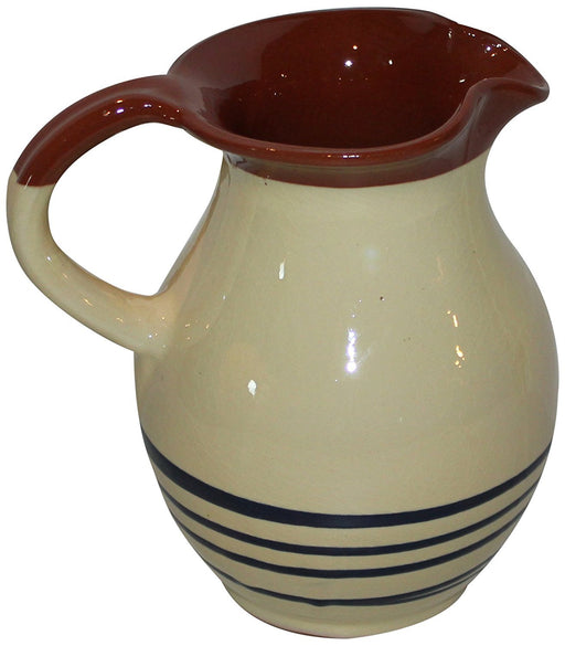 Amazing Cookware 22 x 17 cm Traditional Jug, Cream/ Blue