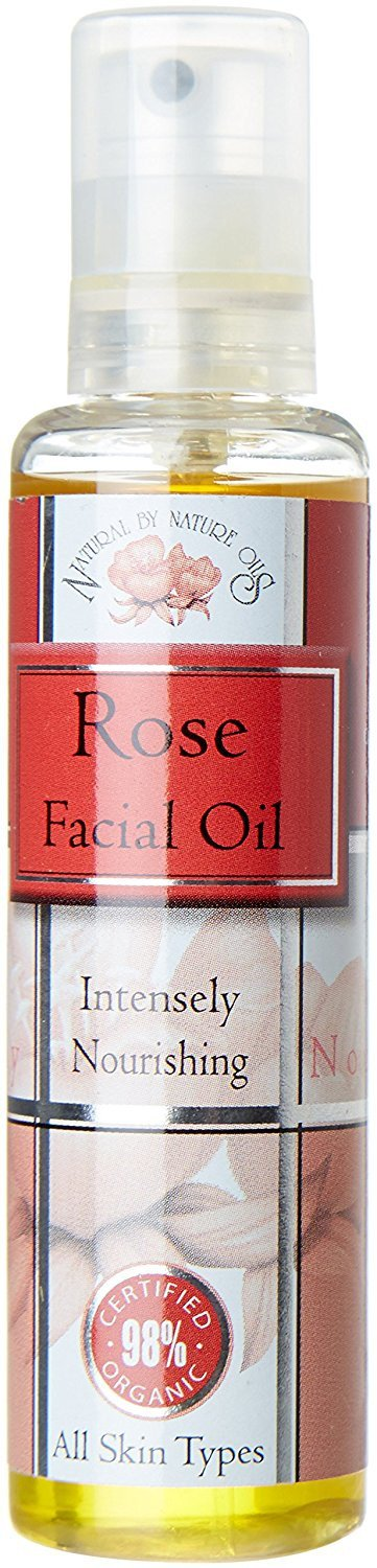 Natural by Nature 28 ml Organic Blend Rose Facial Oil