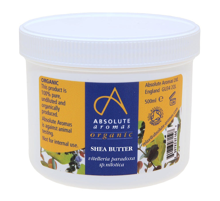 Absolute Aromas Organic Shea Butter 500ml