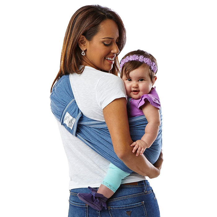 Baby K'tan Carrier Cotton (Large, Denim)