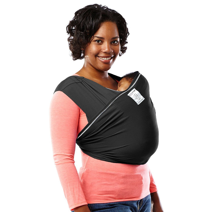 Baby K'tan Active Baby Carrier (Large, Black)