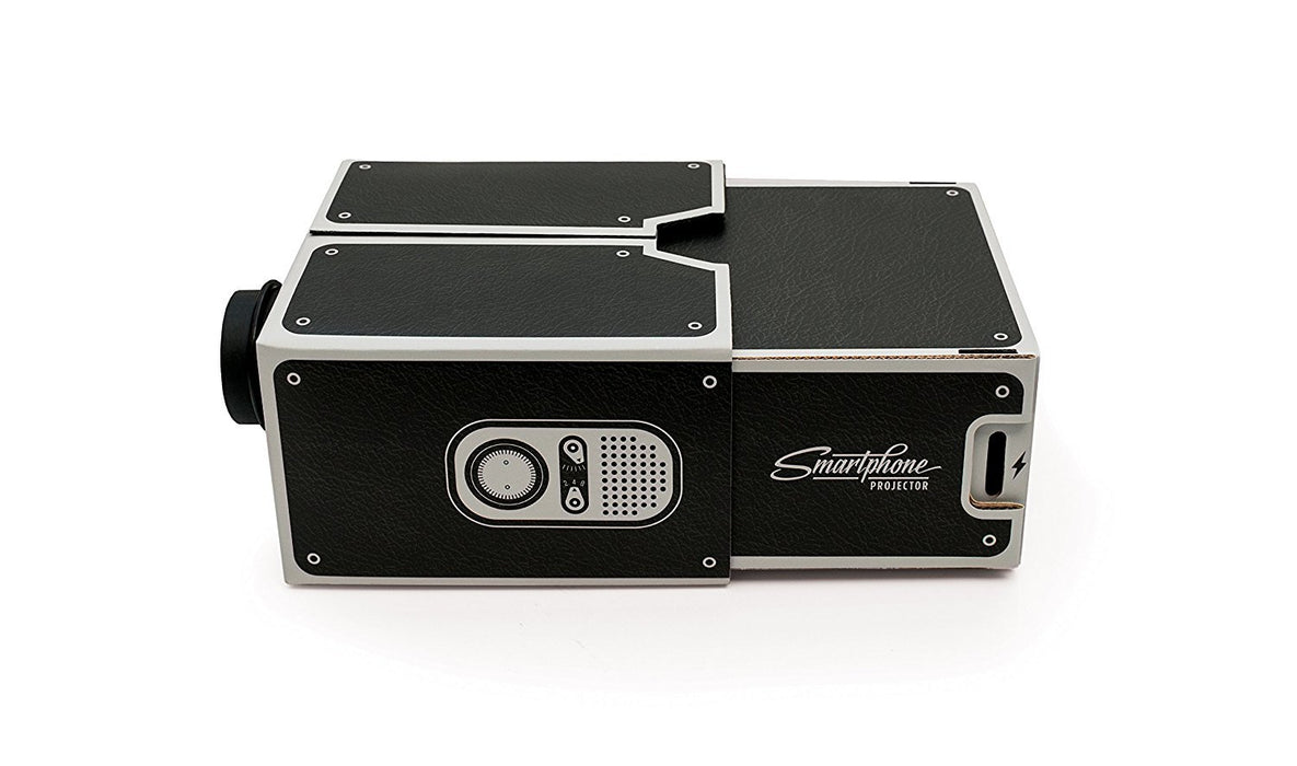 Luckies of London Smartphone Projector - Black