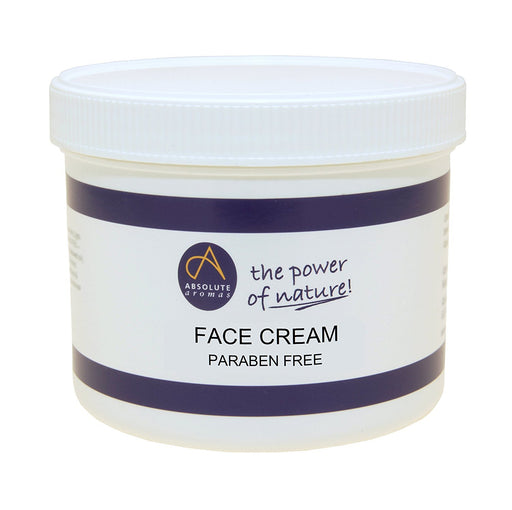 Absolute Aromas Face Cream   Parabens Free  500g