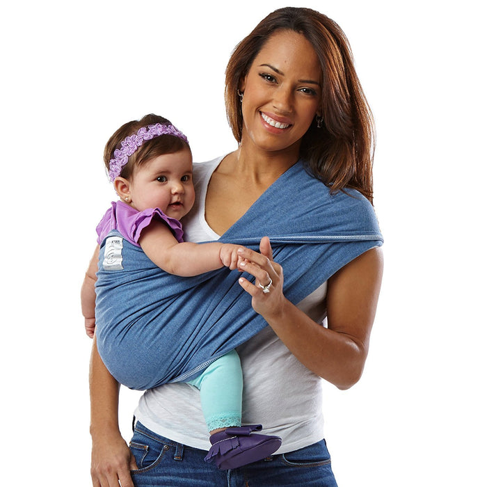 Baby K'tan Carrier Cotton (Small, Denim)