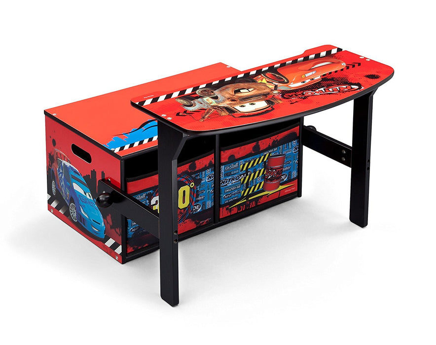Disney Cars Convertible Bench/Desk (Red)