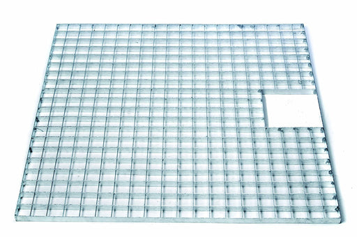 Apollo Galvanised Steel Quadro Grid