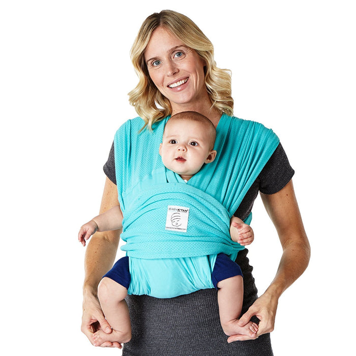 Baby K'Tan Baby Carrier (Medium, Teal Breeze)