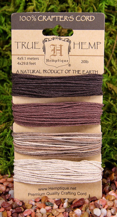Hemptique Hemp Card (Set of 4) Earthy