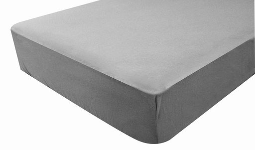 2 in 1 PMP Waterproof Fitted Sheet 60 x 120 cm Taupe