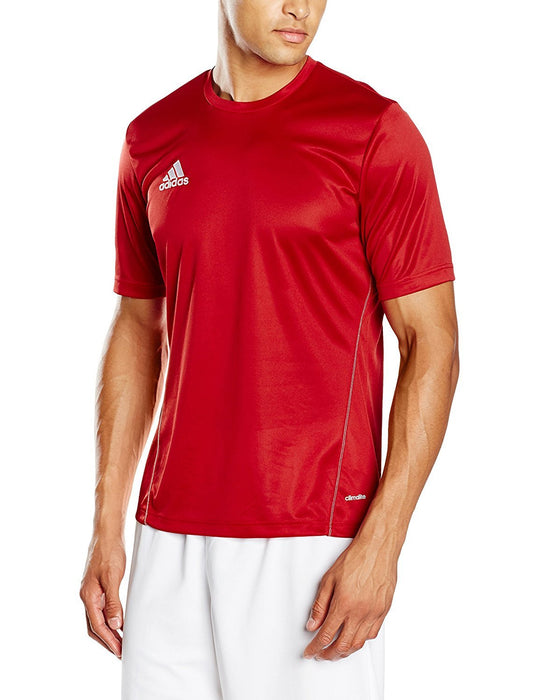 Adidas core 15 men's training shirt, Mens, Core 15, Power Red/white, FR : L (Taille Fabricant : L)