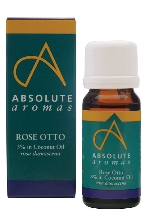 Absolute Aromas Rose Otto 3 Percent  Dilution 10ml
