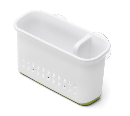 Addis Sink Side Organiser, White/ Grass Green
