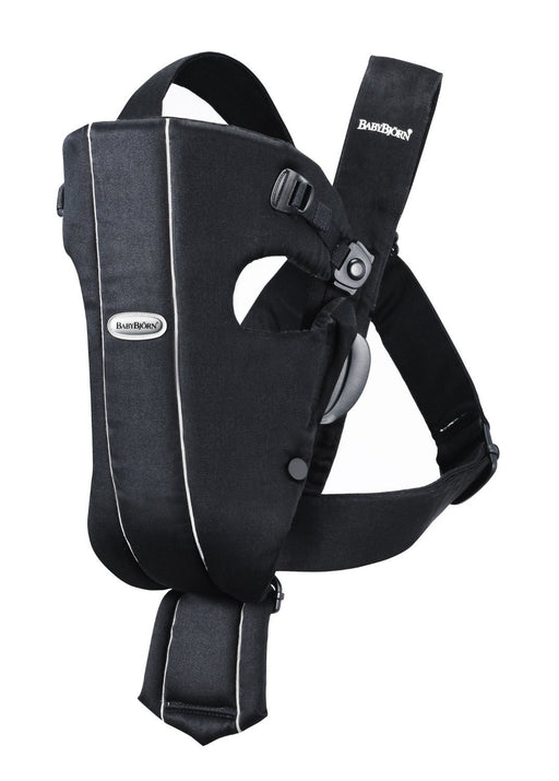 BABYBJÖRN Original Baby Carrier (Black, Cotton)