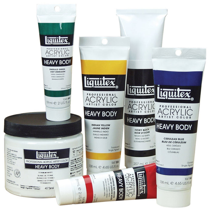 1047323 Liquitex Professional Heavy Body Acrylic Paint 138 ml tube, pyrrolorange