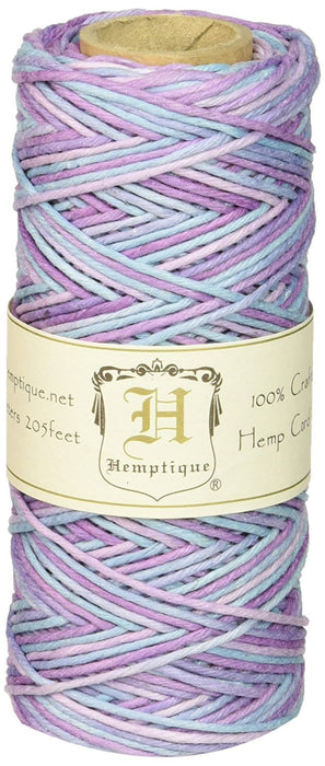 Hemptique Hemp Cord Spool (Variegated) Pastel