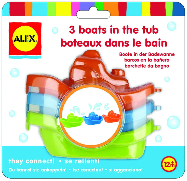 Alex Toys Rub A Dub 3 Boats In The Tub (12 Months And Above)