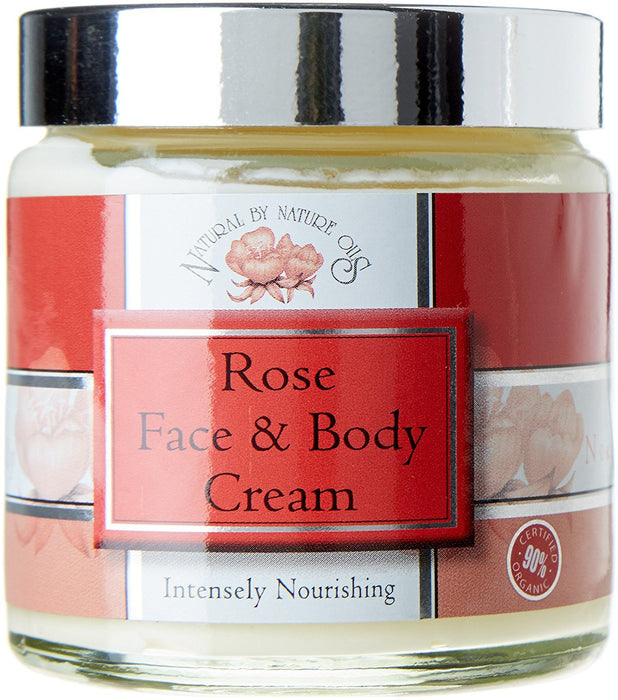 Natural by Nature 100 g Organic Blend Rose Face and Body Cream