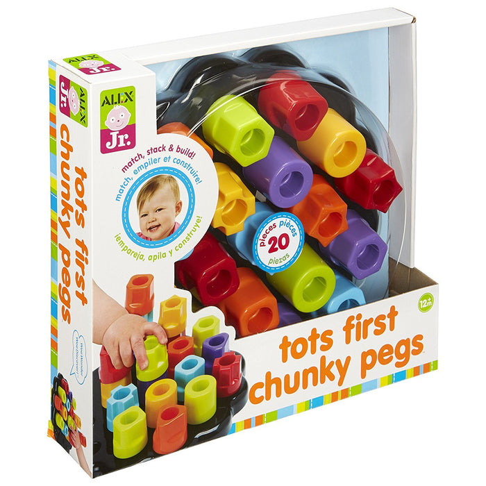 Alex Toys Jr. Tots First Chunky Pegs