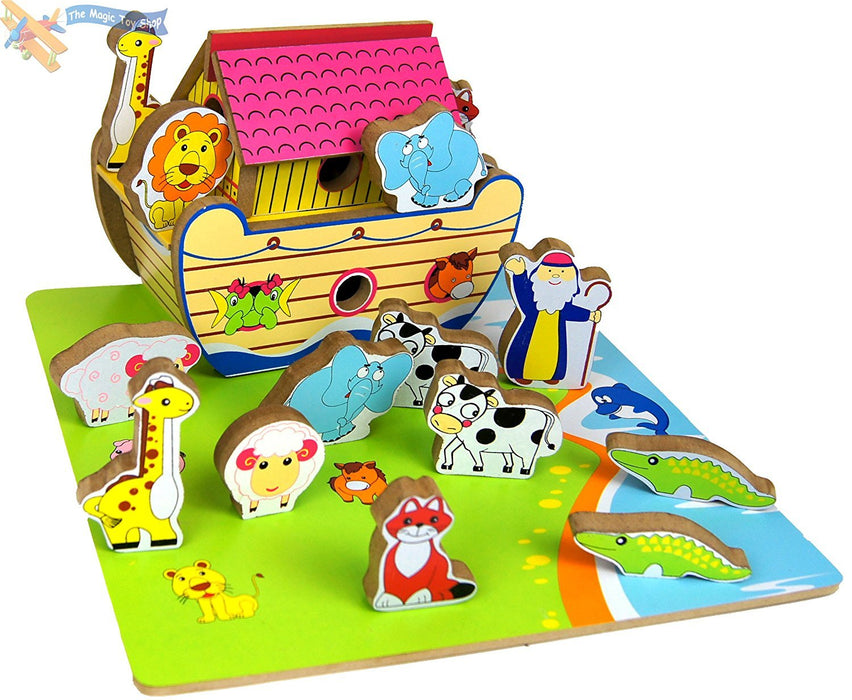 A to Z Wooden Noah's Ark