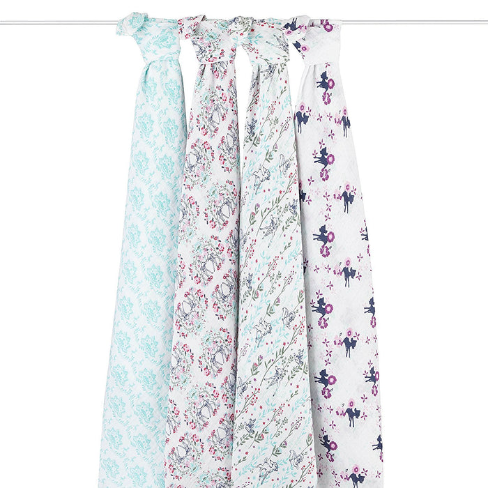 aden + anais Disney Baby Classic Swaddle (Bambi, Pack of 4)