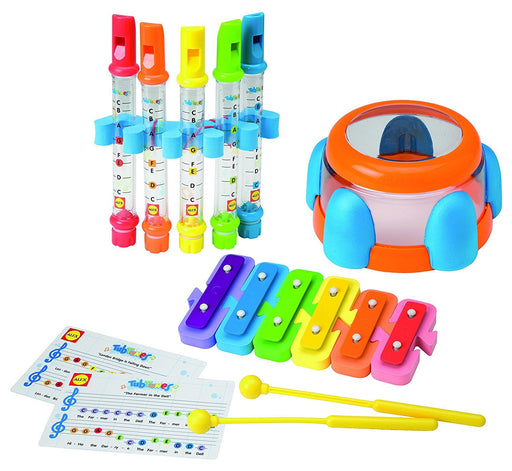 Alex Tub Tunes Symphony Bath Toy Set (Xylophone, Drum and Water Flutes)