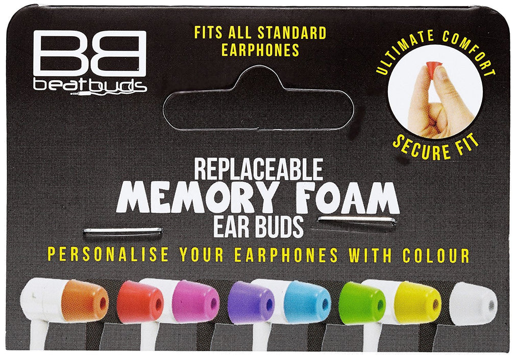 BeatBuds MFT-PL Replace Button For in-Ear Earphones-Clear