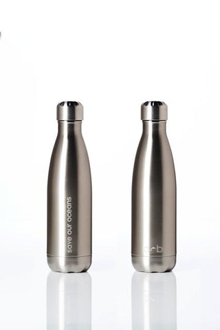 BBBYO Future Bottle - Silver -  Stainless Steel - Insulated - 500 ml