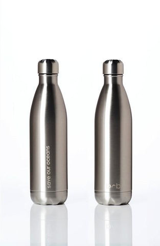 BBBYO Future Bottle - Silver -  Stainless Steel - Insulated - 750 ml