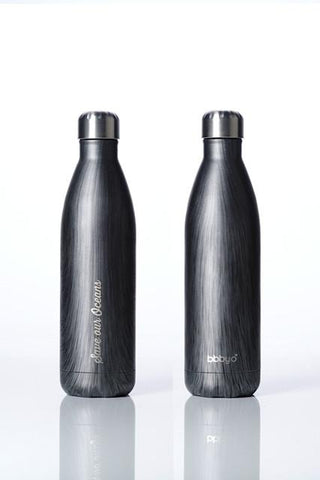 BBBYO Future Bottle -  Stainless Steel - Insulated - 750 ml - Blackwood