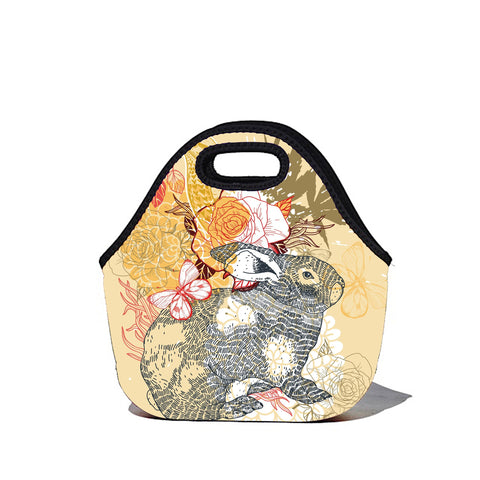 Lunchtime Bag by BBBYO - Bunni print