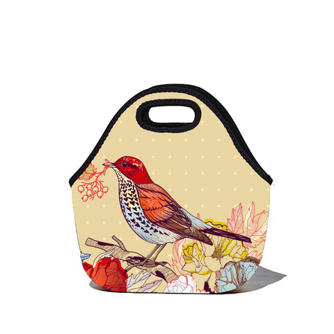 Lunchtime Bag by BBBYO - Bird print