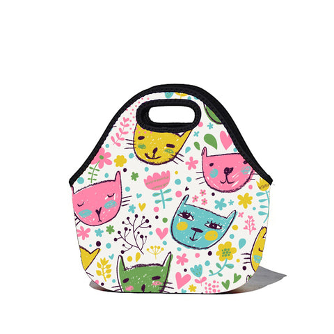 Lunchtime Bag by BBBYO - Cats print