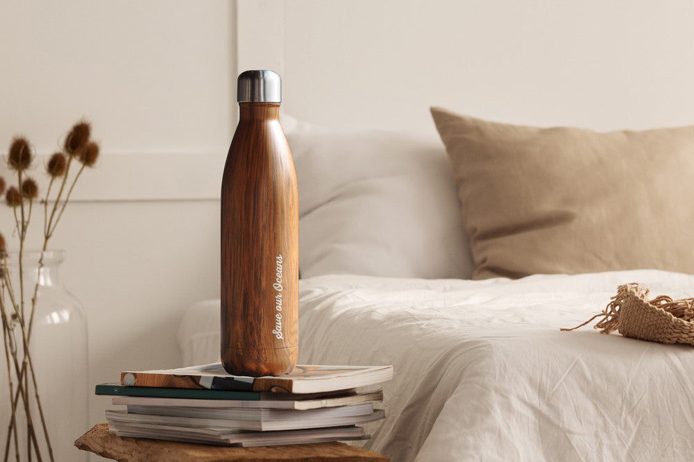 eco warrior, coast conservation, stainless steel drink bottle