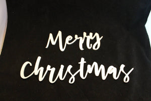 Merry Christmas, Merry, Christmas, Word Sign, Wooden Words, Laser Cut Out, Wood Cut Out, Custom Word Art, Personalize, Footstepsinthepast