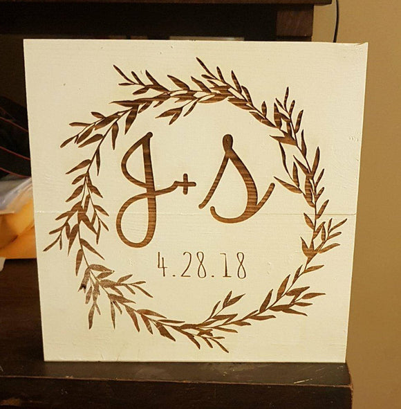Family Name Sign, Last Name Sign, Wedding Gift, Wall Decor, Personalized Family Name Signs, Family, Established Sign, Wedding Gift, Custom